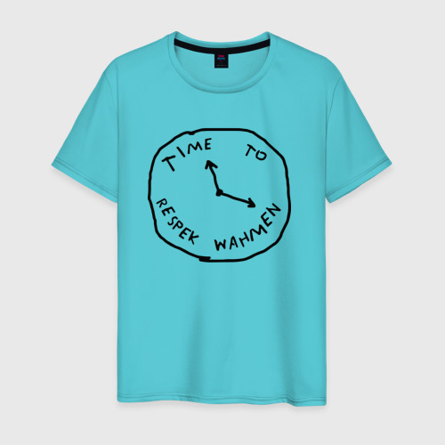 Мужская футболка хлопок Respek Wahmen Фото 01
