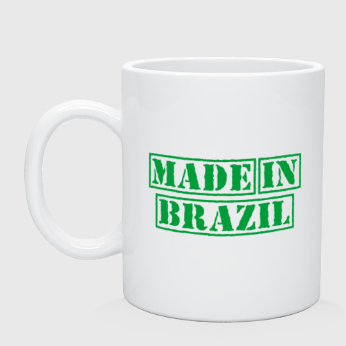 Кружка Made in Brazil