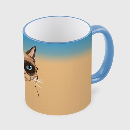 Кружка с полной запечаткой Grumpy cat ART