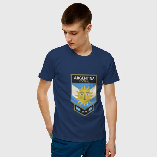 Мужская футболка хлопок  Фото 03, Футбол - Аргентина