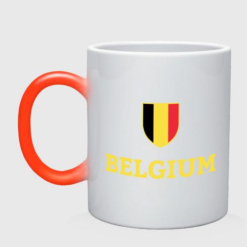 Кружка хамелеон Belgium