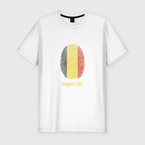 Мужская футболка премиум Бельгия