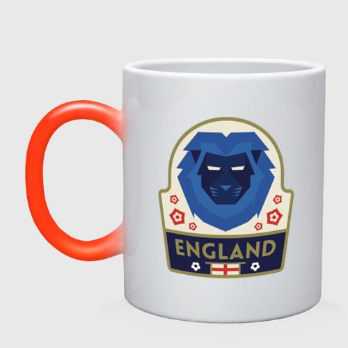 Кружка хамелеон Футбол - Англия