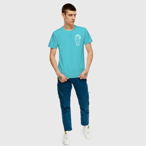 Мужская футболка хлопок PEWxDIExPIE Фото 01