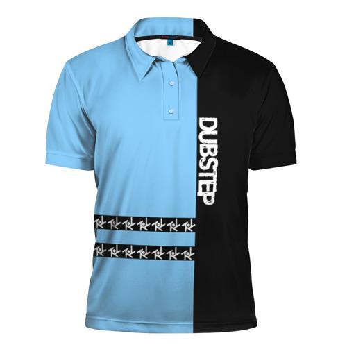 Мужская рубашка поло 3D  Фото 01, Dubstep