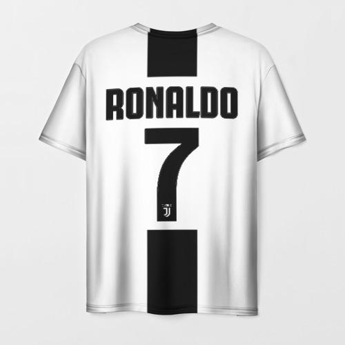 Мужская футболка 3D Роналду Ювентус Фото 01
