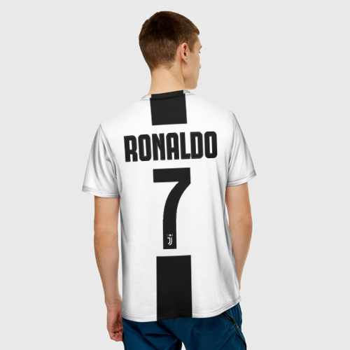 Мужская футболка 3D  Фото 02, Роналду Ювентус
