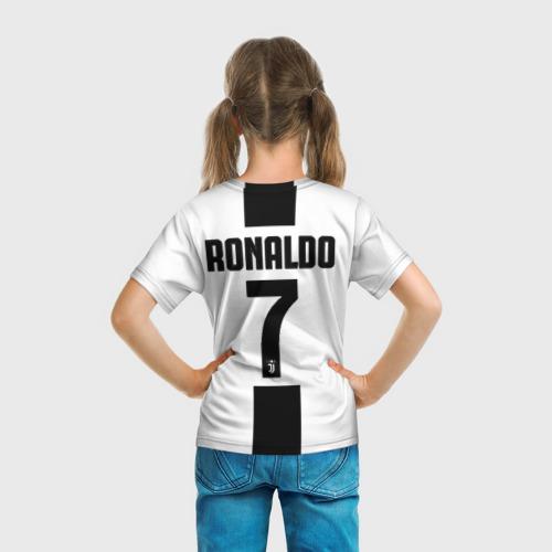 Детская футболка 3D 'Роналду Ювентус'