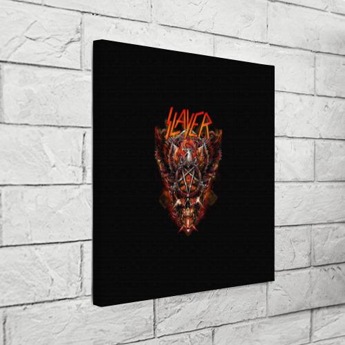 Холст квадратный Slayer Фото 01