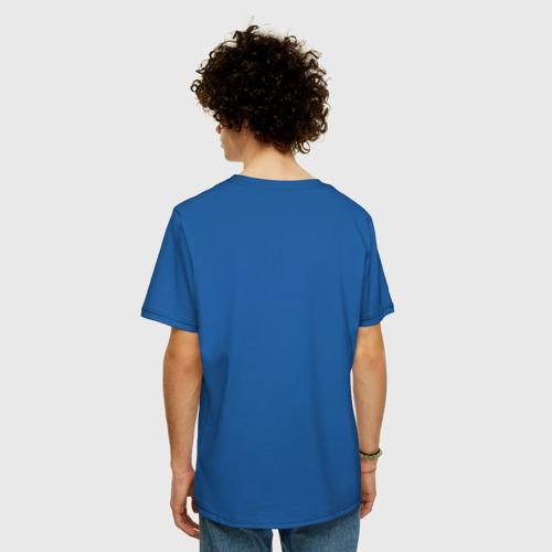 Мужская футболка хлопок Oversize Дерево Киберпанк Фото 01