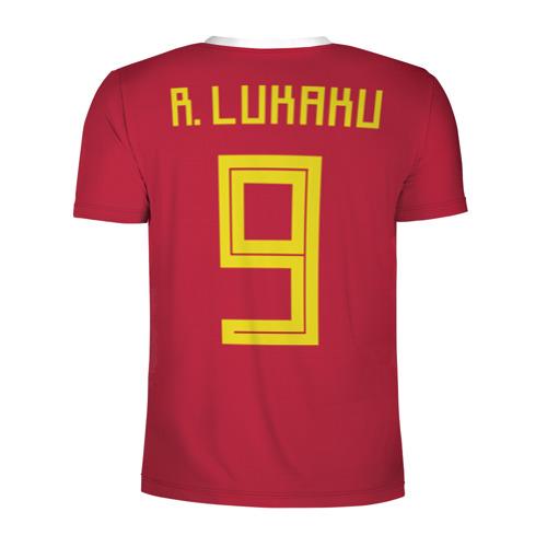 Мужская футболка 3D спортивная  Фото 02, Lukaku WC 2018