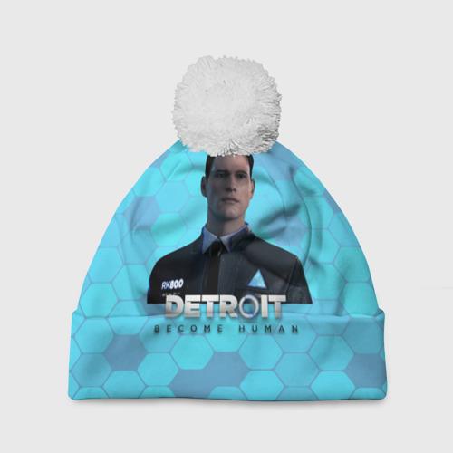 Шапка 3D c помпоном Detroit: Become Human Фото 01