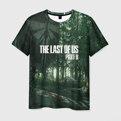 Мужская футболка 3D  Фото 03, The Last Of Us Part II Лес