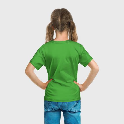Детская футболка 3D  Фото 04, Маша и Медведь Goal!
