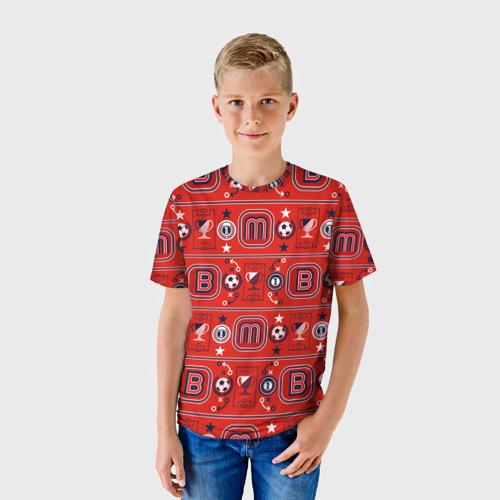 Детская футболка 3D Masha and the Bear