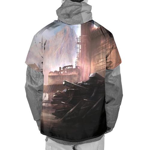 Накидка на куртку 3D ELEX игра Фото 01