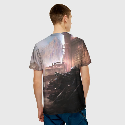 Мужская футболка 3D ELEX игра Фото 01