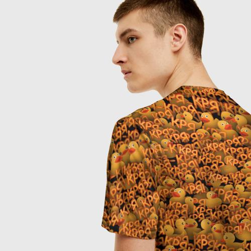 Мужская футболка 3D Кря-кря! Фото 01