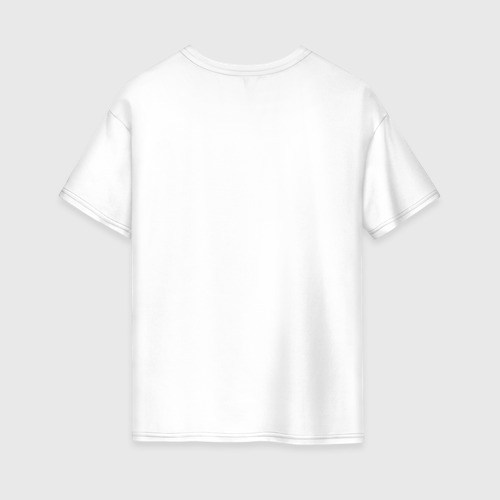Женская футболка хлопок Oversize Кисончик Фото 01