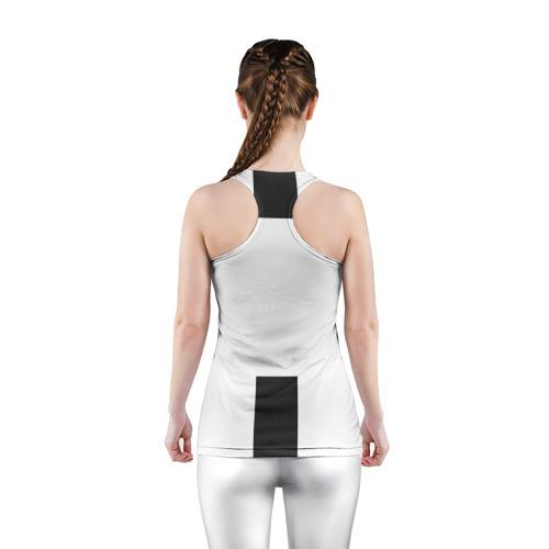 Женская майка 3D спортивная Форма Ювентуса 18-19 Фото 01