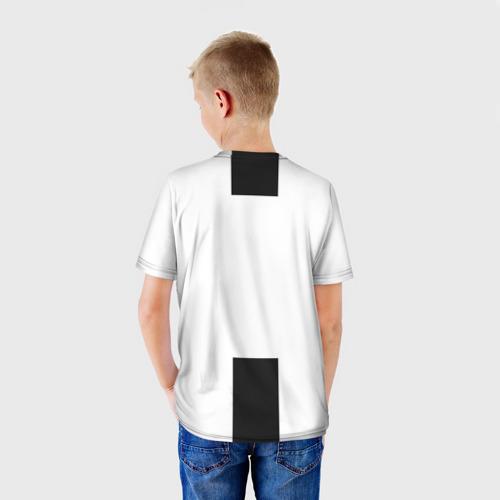 Детская футболка 3D Форма Ювентуса 18-19 Фото 01