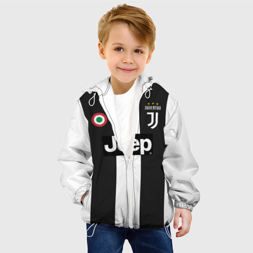 Детская куртка 3D Форма Ювентуса 18-19 Фото 01