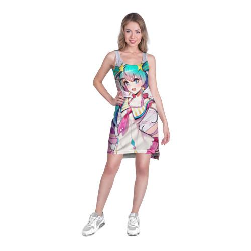 Платье-майка 3D Музыкальное наслаждения Фото 01
