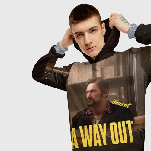 Мужская толстовка 3D A Way Out Vincent Фото 01