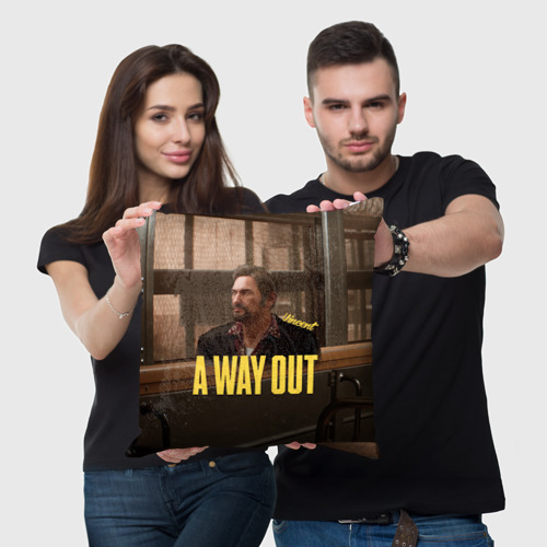 Подушка 3D A Way Out Vincent Фото 01