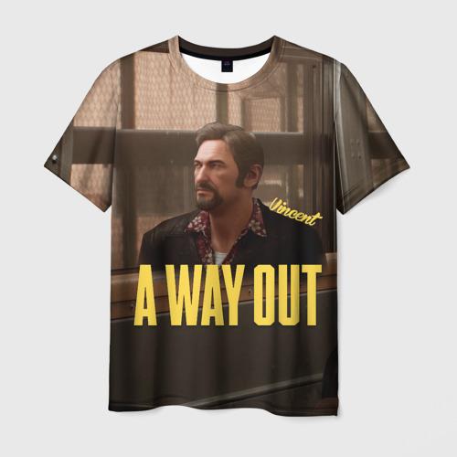 Мужская футболка 3D  Фото 01, A Way Out Vincent