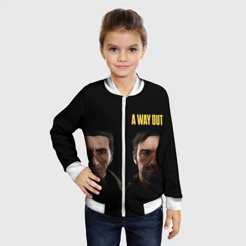 Детский бомбер 3D Leo & Vincent A Way Out Фото 01