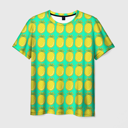 Мужская футболка 3D Ананас
