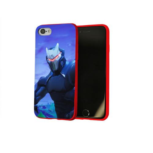 Чехол для Apple iPhone 8 силиконовый глянцевый Fortnite Фото 01