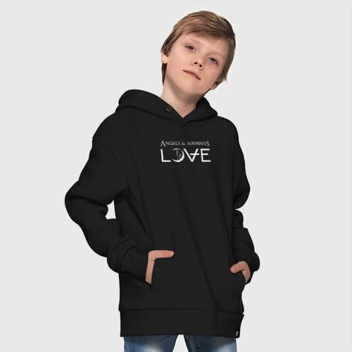Детское худи Oversize хлопок Love AVA Фото 01