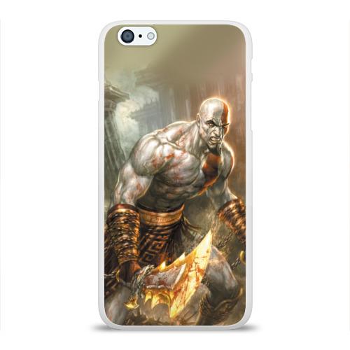 Чехол для Apple iPhone 6Plus/6SPlus силиконовый глянцевый  Фото 01, God of War