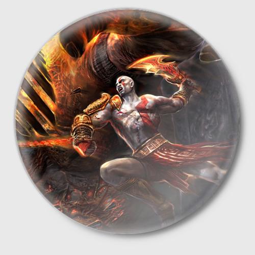 Значок God of War Фото 01