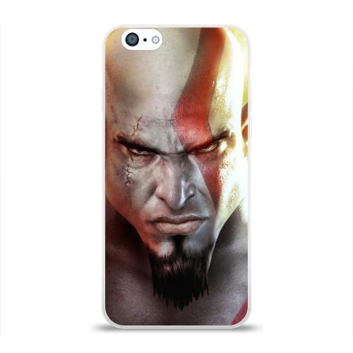 Чехол для Apple iPhone 6 силиконовый глянцевый Кратос Фото 01