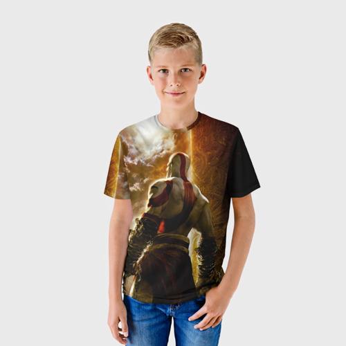 Детская футболка 3D  Фото 01, Генерал Кратос