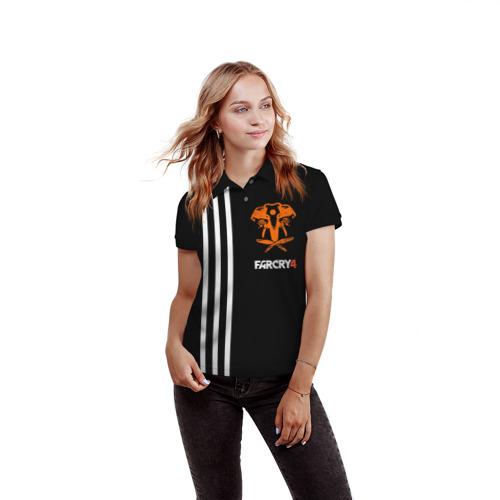 Женская рубашка поло 3D Far Cry 4 Фото 01