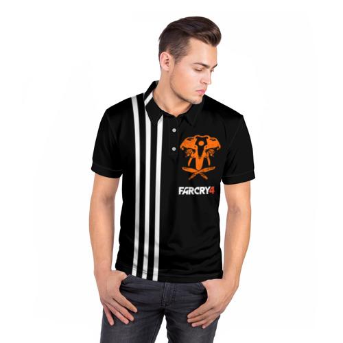 Мужская рубашка поло 3D Far Cry 4 Фото 01