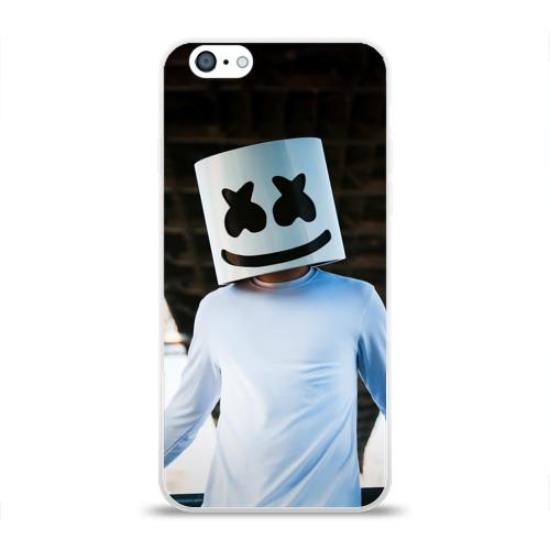 Чехол для Apple iPhone 6 силиконовый глянцевый  Фото 01, Электронная музыка