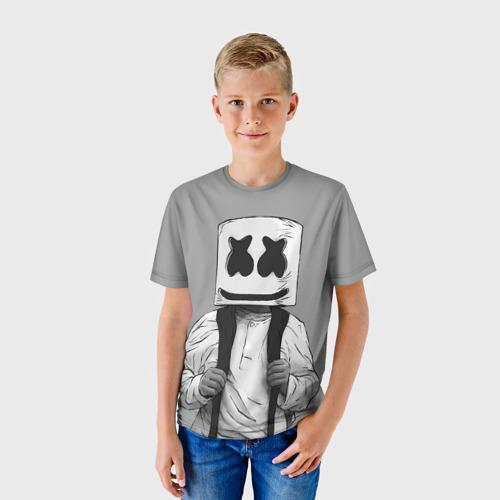 Детская футболка 3D Electronic music