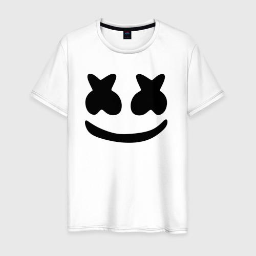 Мужская футболка хлопок Маршмеллоу