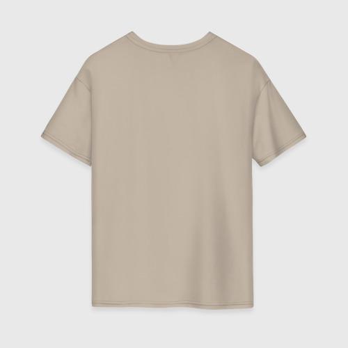 Женская футболка хлопок Oversize Новое лого Фото 01