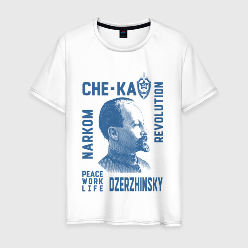 Мужская футболка хлопок Дзержинский Фото 01