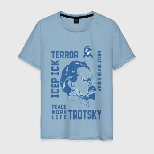 Мужская футболка хлопок Троцкий Фото 01