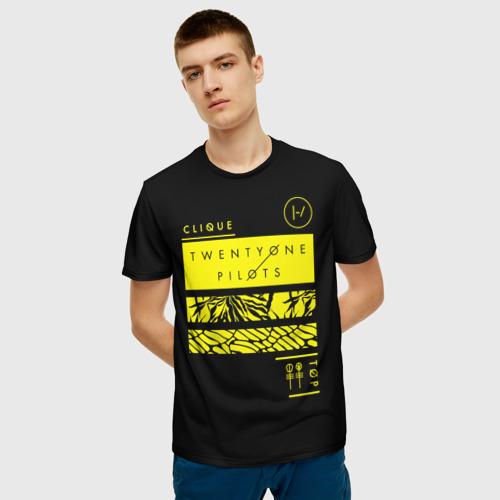 Мужская футболка 3D Jumpsuit Фото 01