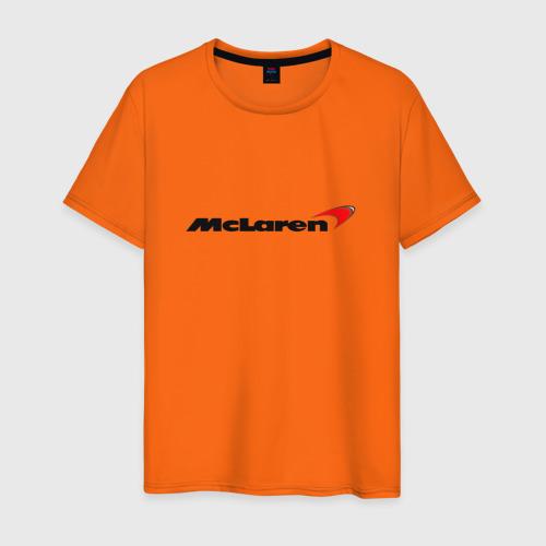 Мужская футболка хлопок mclaren Фото 01