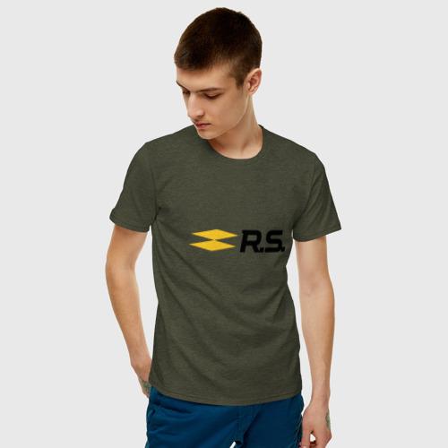 Мужская футболка хлопок рено Фото 01