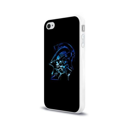 Чехол для Apple iPhone 4/4S силиконовый глянцевый LUDENS \ KOJIMA PRODUCTIONS Фото 01